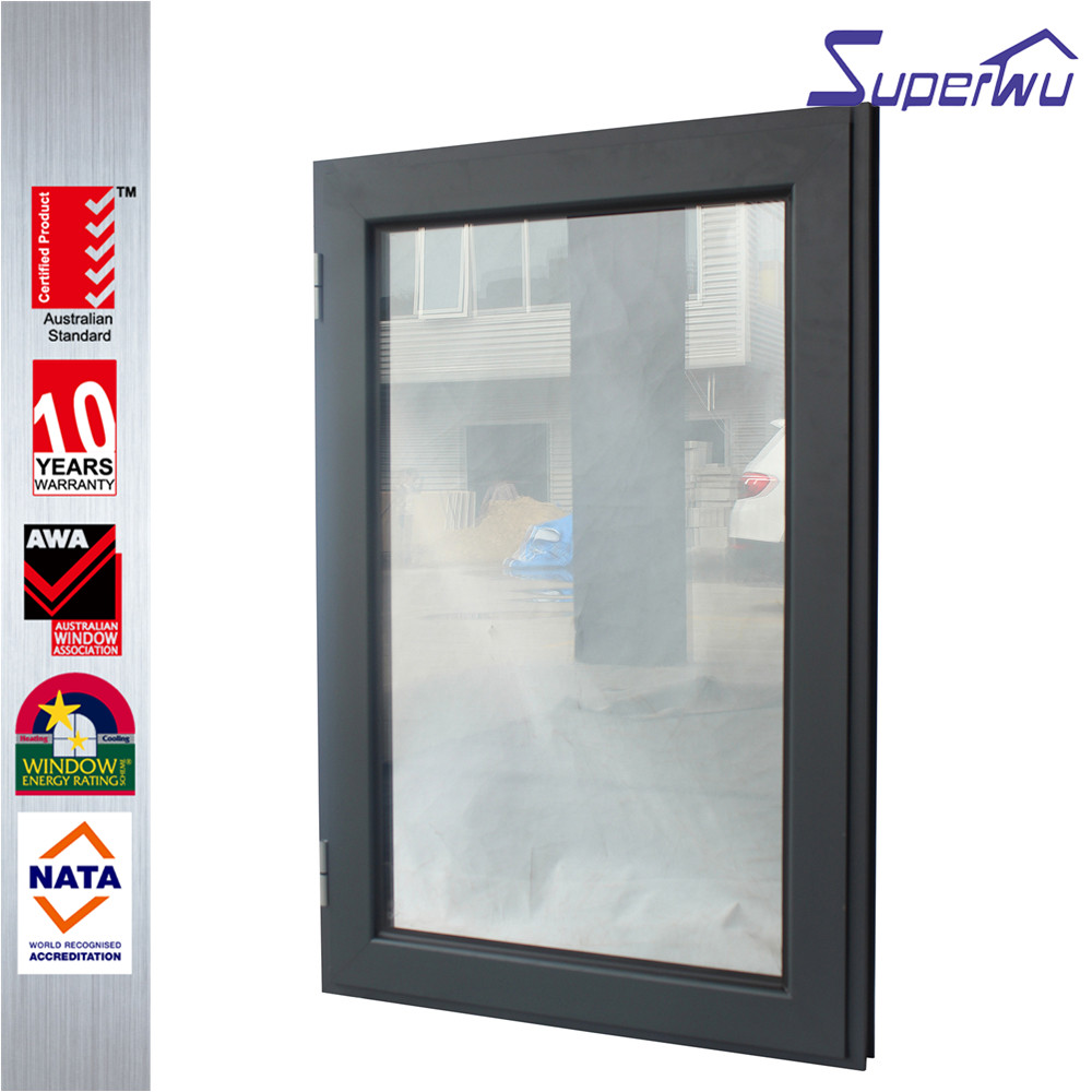 French alumninum material casement window