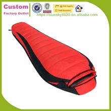 Outdoor Camping eco-friendly oem service unicorn mummy sleeping bag