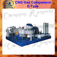 D type CNG natural gas compressor water-cooled