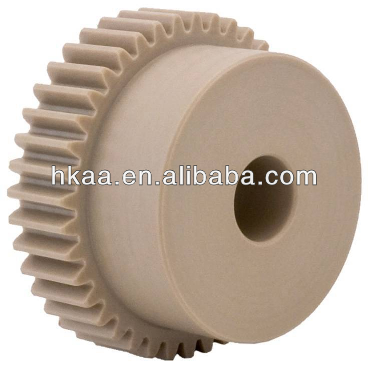 Precision nylon delrin spur gears,plastic spur gear, hp printer gear