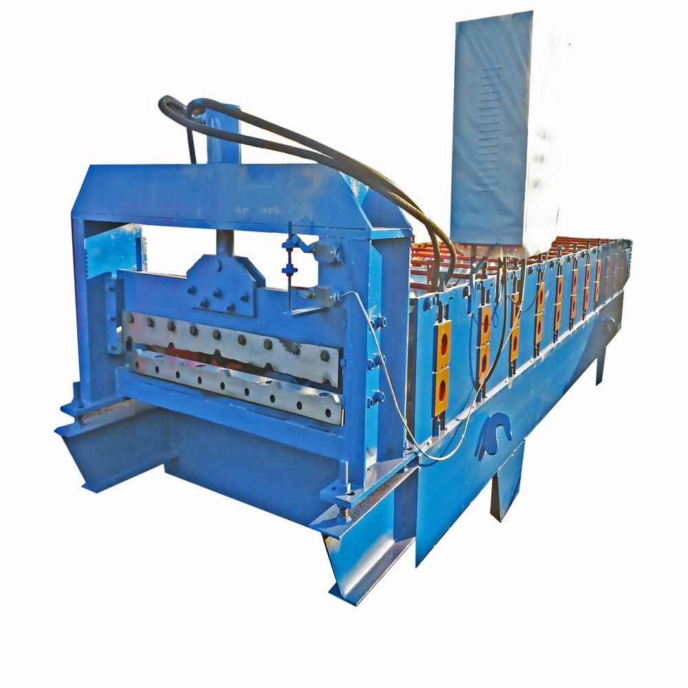 2016 summer 900mm metal roofing sheet making molding machine