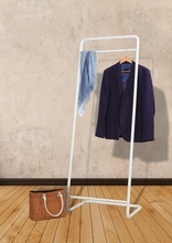 Sland movable metal hanging clothes drying rack