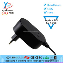 2017 new product CE UL Wall mounted AC DC 24W 12v 2a power adapter 12v 2000ma