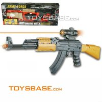 Infrared toy plastic machine gun