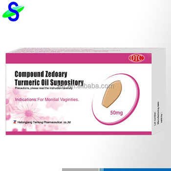 Vaginal disease treating suppository for vaginitis caused by bacteria