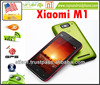 "XIAOMI M1 Android 2.3 1GB ram Dual core 1.5G cpu 4.0"" screen 8.0 MP 1930 mha battery only for High pursuit Smartphone"