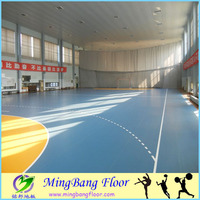 indoor basketball court flooring court paint.Sandwich System badminton court