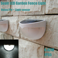New 0.42w outdoor pir sensor powerful led solar security light