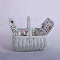 4 Person picnic basket wicker hamper for gift basket wholesale
