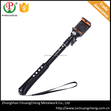 PingWen HOT SALES 2016 mini wireless phone holder selfie stick with bluetooth