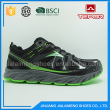 Vogue breathable light green pro sport running volleyball shoes for men