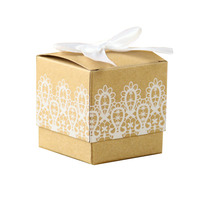 Popular Craft Paper Gift Candy Box