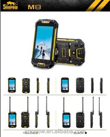 SNOPOW M8 IP68 waterproof 4.5 inch walkie talkie 5 KM android 4.4 NFC quad core water resistant phone