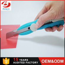 High quality knives for cnc cutters film cutting knife stainless steel plastic handle