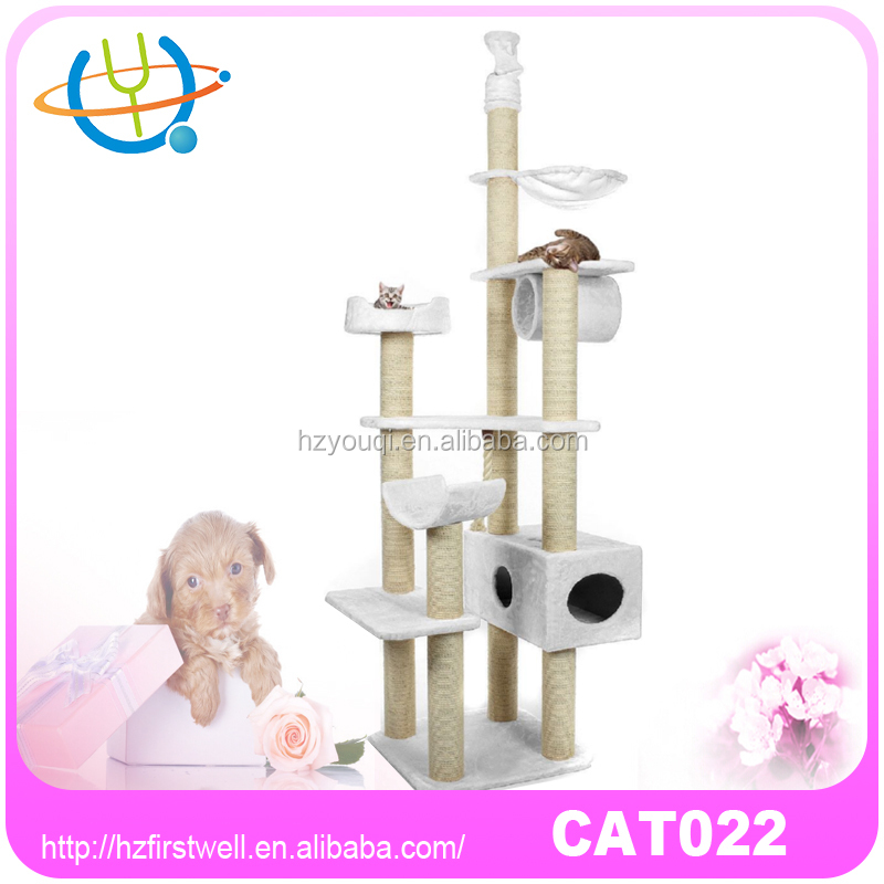 Factory Directly Good Price Artificial Wooden Cat Tree Pet Home