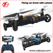 Hot toys for christmas 2016 Newest 2.4Ghz WIFI FPV Flying car drone with Camera