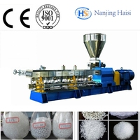 Polyethylene Extrusion Machine With Whole Strand Pelletizing Line