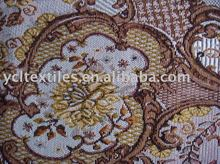 jacquard woven sofa/curtain/blanket/tapestries fabric with customized design