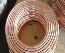 Pancake coil copper tube / pipe for Air conditioner
