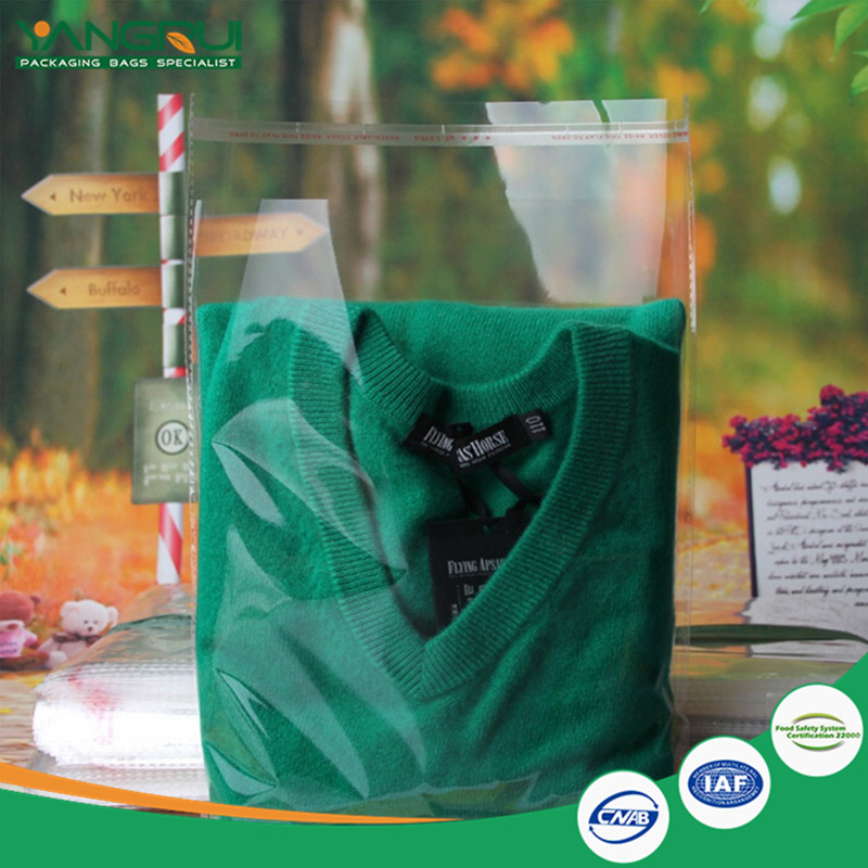 new design eco friendly children adult clear 3 side sealing underwear plastic costume print zipper bag