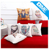 Factory Customized Wholesale Sublimation Cartoon Animal Sex Pillow Case