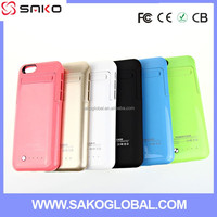 New Arrival 3500mah Full Capacity Power Case Cover For Iphone6 External Battery Case