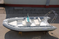 RIB boat high speed boat pvc fishing inflatable boat with outboard engine