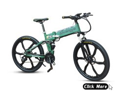New Model 26'' heterotype tube frame mountain electric bicycle