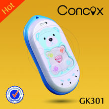 Cute kids safety tracker GK301 cell phone for girls