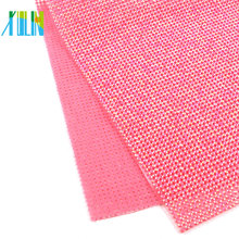 GTB0804 Hot Fix Sheet Diamond Rhinestones Mesh Wrap Roll Diy Rhinestone Applique