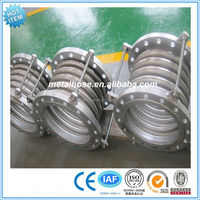 Pipe Fittings Pipeline Flanged Stainless Steel Flexible Metal Corrugated Compensators/Expansion Joint Bellows