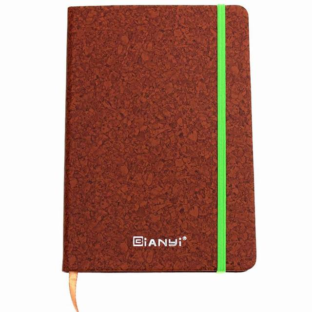 2017 Custom Luxury High Quality Agenda Diary, Cheap Wholesale A5 Pu Leather Notebook With Elastic Band