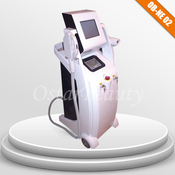 IPL/RF laser hair removal and tattoo removal electronic medical equipment OB-NE 02