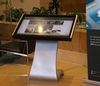 Android OS LED interactive multi touch table, android touchscreen monitor