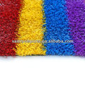 colored artificial grass for running track