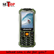 VKWORLD Stone V3S 2.4inch Long Time Standby Multi Language GSM Rugged Elder Fashioned Cheap Camera Mobile Phone