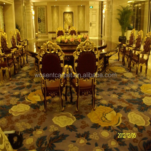 Professional Supplier Royal Design Hand tufted Wool Carpet