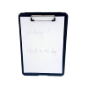 Free Sample Supply Custom Size Vintage Eco-friendly Waterproof Dual Storage Hardware Plastic Clipboard