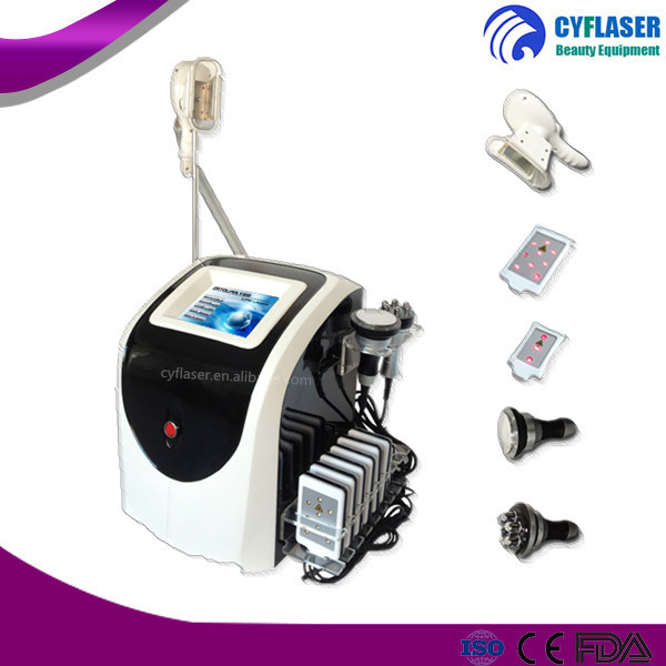 CE / FDA approved Cryo Cavitation+RF+Lip laser, cryo fat freeze slimming machine with cheap price