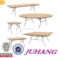 folding waterpoof plywood dining wooden Round plywood table