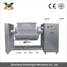 Automatic industrial vacuum cooking pot with mixer