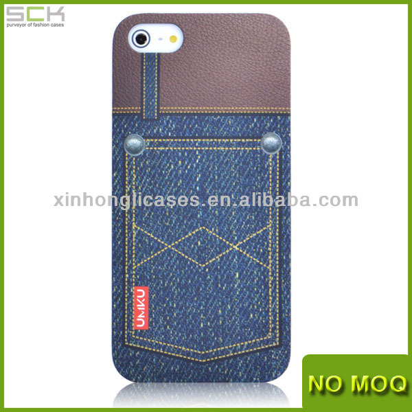 Jeans - Hard Cover Case for iPhone 5 china manufacturer