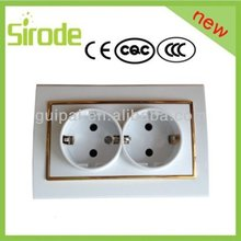 Golden with Silver Color ethernet light switch