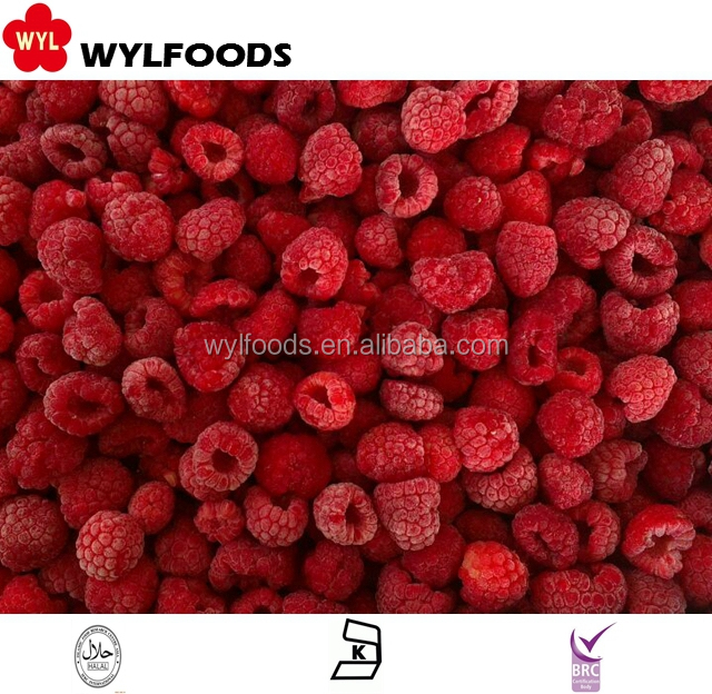 2015 chinese brand high quality frozen raspberry