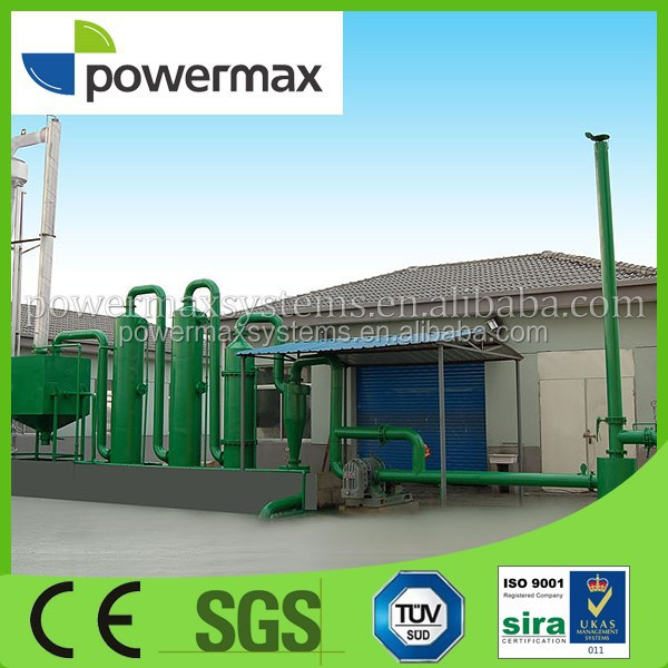 environmental friendly wood chipe power plant