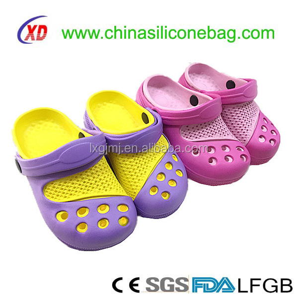 Kids size safety protecte eva beach shoes