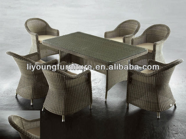 Sex Dining Furniture & 6 Chair+Table LG-641810