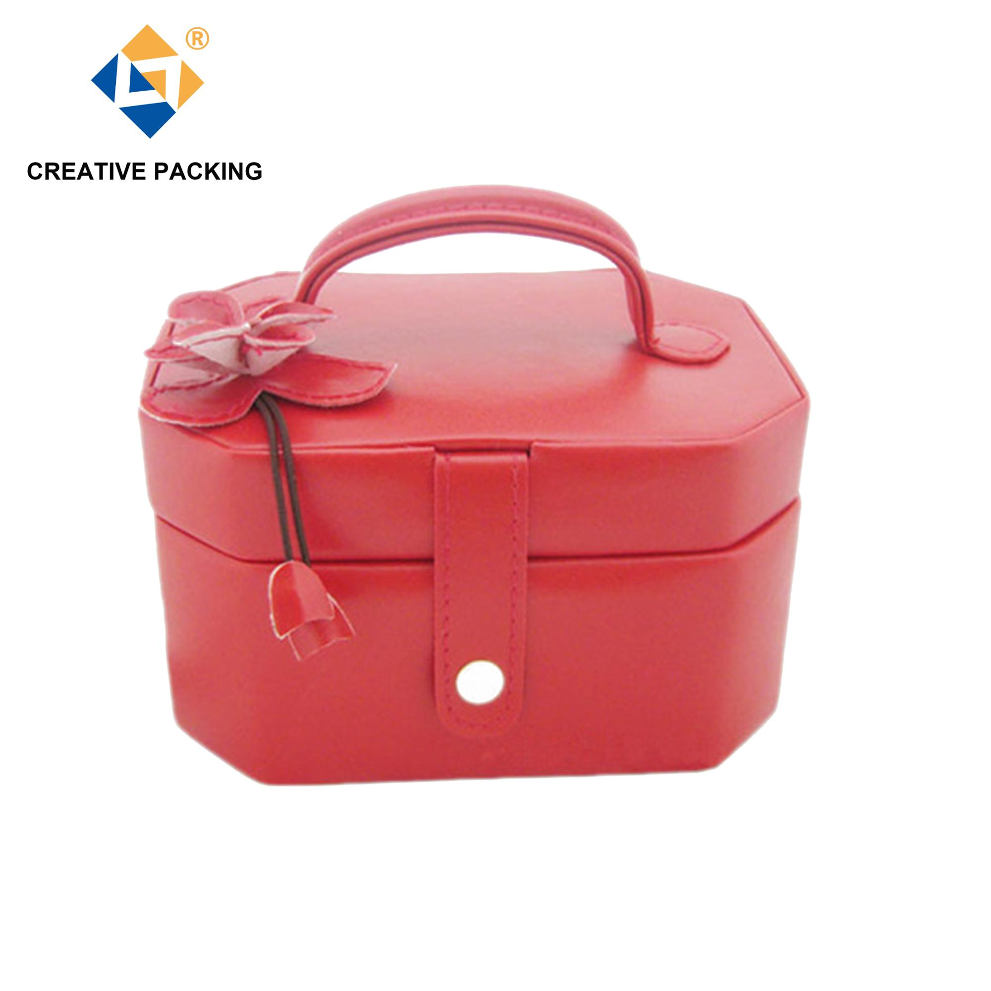(CY-L3128) Jewelry Boxes With Key Lock And Many Compartments,Gemstone Jewelry Box,Gift Jewelry Music Box