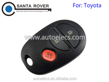 For Toyota Sienna Tacoma Remote Car Key Shell 2+1 Button