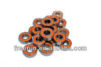 High Performance MEGATECH 1/10 GAS steel bearing kits with different rubber seal color